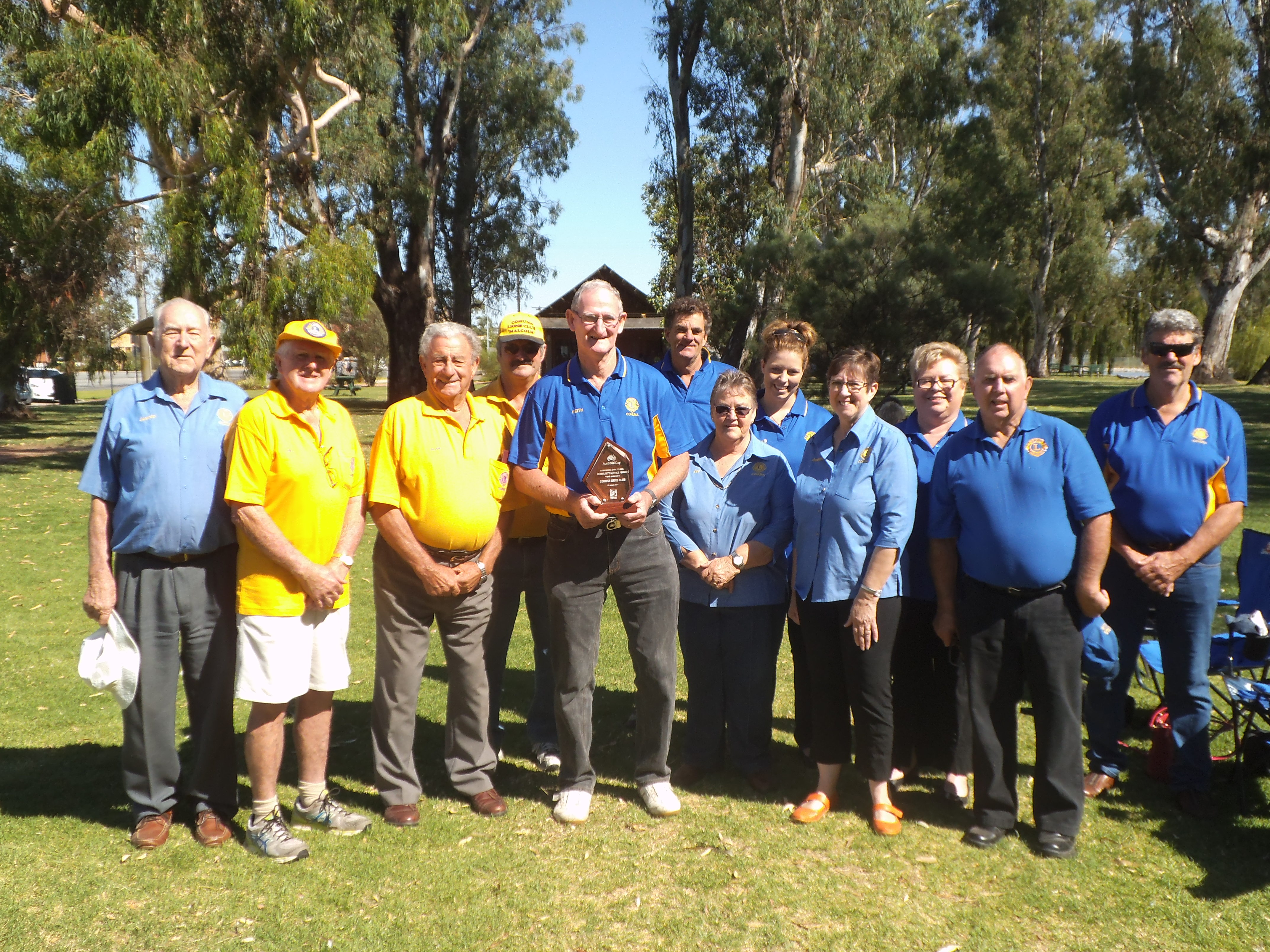 Cohuna Australia  city photo : The Lions Club of Cohuna were the very proud recipients of the ...